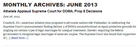 Applause for DOMA but on VRA...